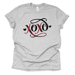 B2G1 XOXO Valentine's Day Unisex T-shirt Plus Size